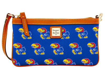 Kansas Jayhawks Dooney & Bourke Large Wristlet
