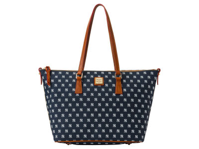 New York Yankees Dooney & Bourke Zip Top Shopper