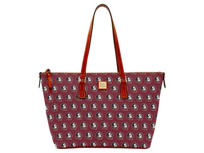 Florida State Seminoles Dooney & Bourke Zip Top Shopper
