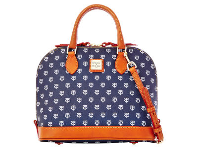 Minnesota Twins Dooney & Bourke Zip Zip Satchel