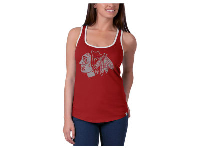 Chicago Blackhawks '47 NHL Women's Clutch Foil Tank