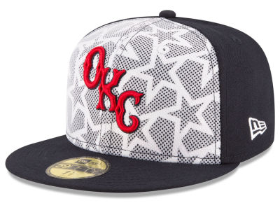 Oklahoma City Dodgers New Era 2016 MiLB Stars & Stripes 59FIFTY Cap
