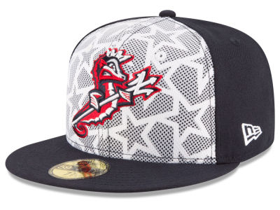 Norfolk Tides New Era 2016 MiLB Stars & Stripes 59FIFTY Cap