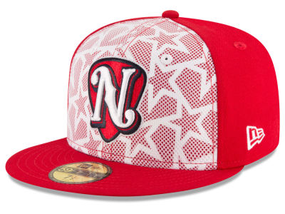 Nashville Sounds New Era 2016 MiLB Stars & Stripes 59FIFTY Cap