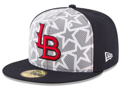 Louisville Bats New Era 2016 MiLB Stars & Stripes 59FIFTY Cap