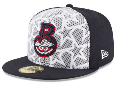 Biloxi Shuckers New Era 2016 MiLB Stars & Stripes 59FIFTY Cap