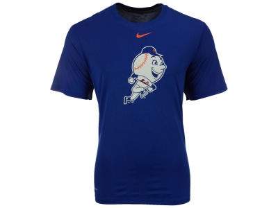 New York Mets Nike MLB Men's BP Logo Legend T-Shirt