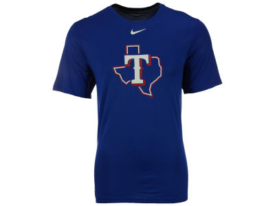 Texas Rangers Nike MLB Men's BP Logo Legend T-Shirt