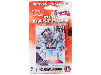 Atlanta Braves Team Card Set 2016