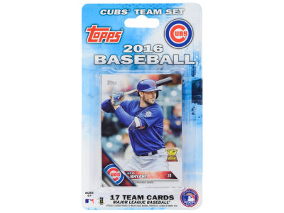 Chicago Cubs Team Card Set 2016