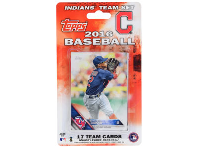 Cleveland Indians Team Card Set 2016