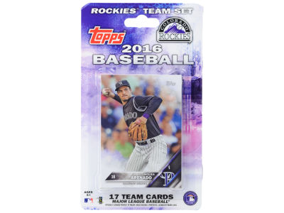 Colorado Rockies Team Card Set 2016