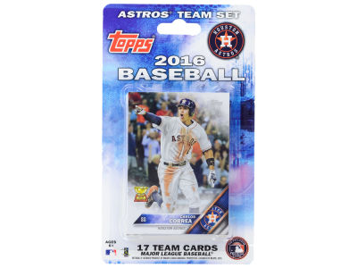 Houston Astros Team Card Set 2016
