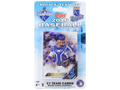 Kansas City Royals Team Card Set 2016
