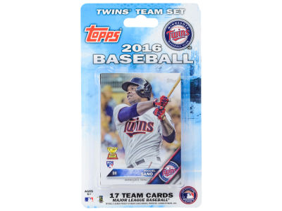 Minnesota Twins Team Card Set 2016