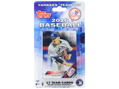 New York Yankees Team Card Set 2016