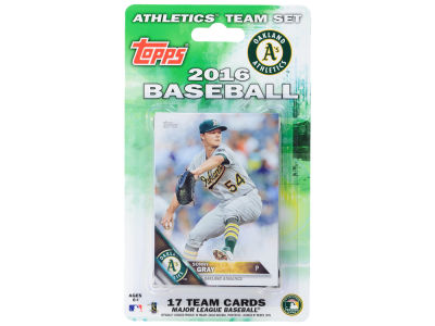 Oakland Athletics Team Card Set 2016