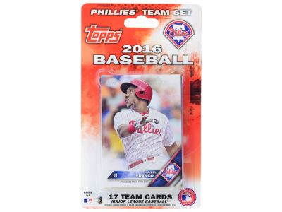 Philadelphia Phillies Team Card Set 2016