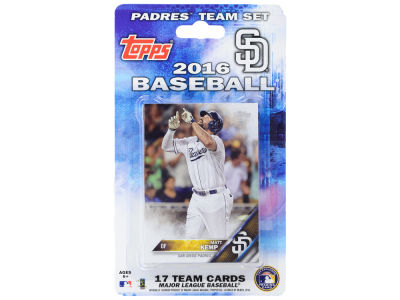 San Diego Padres Team Card Set 2016