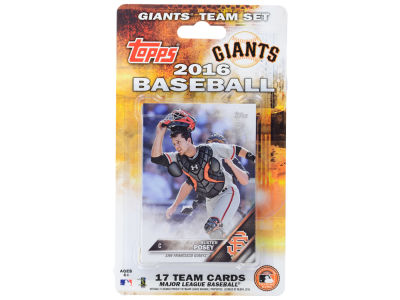 San Francisco Giants Team Card Set 2016