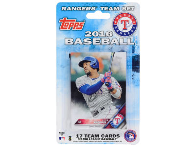 Texas Rangers Team Card Set 2016