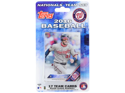 Washington Nationals Team Card Set 2016