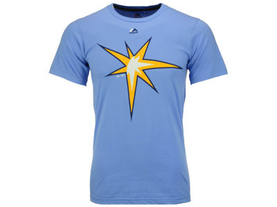 Tampa Bay Rays Majestic MLB Men's Official Legacy Logo T-Shirt