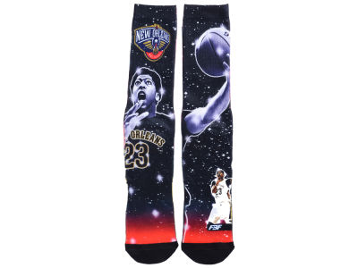 New Orleans Pelicans Anthony Davis NBA Player Constellation Socks