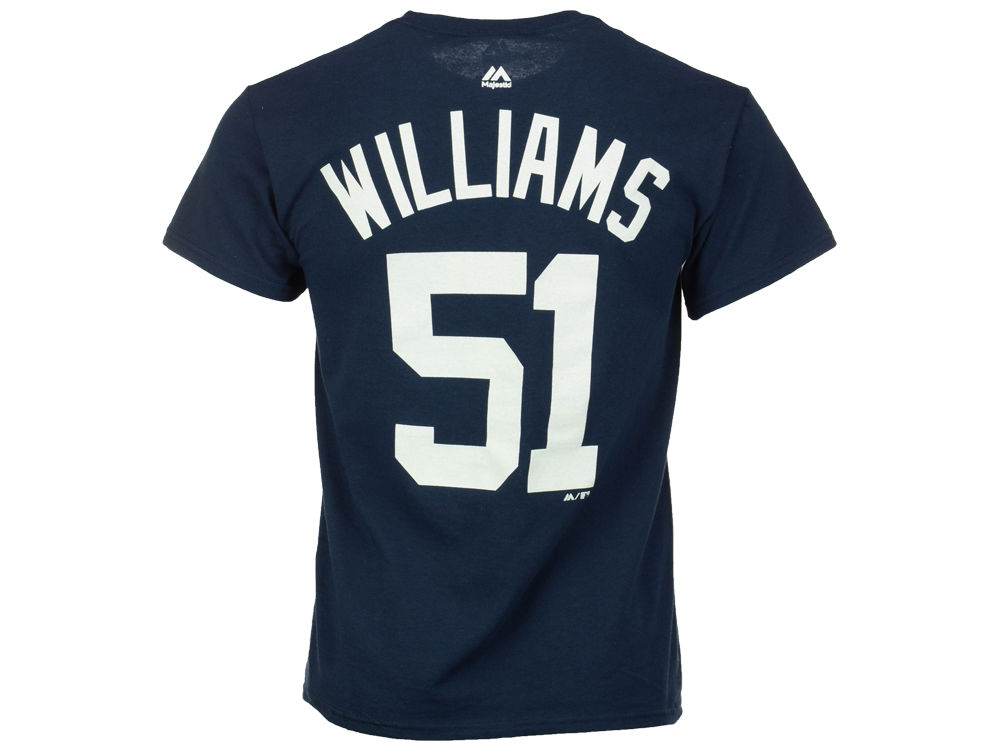New York Yankees Bernie Williams Majestic MLB Men s Cooperstown Player  T-Shirt  452fea150a3