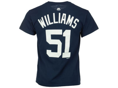 New York Yankees Bernie Williams Majestic MLB Men's Cooperstown Player T-Shirt