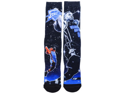 Oklahoma City Thunder Russell Westbrook NBA Player Constellation Socks