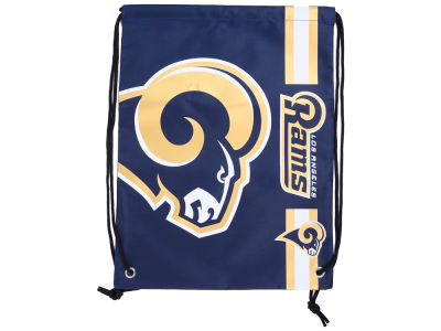 Los Angeles Rams Big Logo Drawstring Backpack