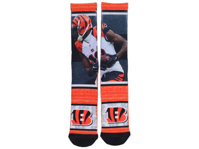 Cincinnati Bengals AJ Green NFL Rush Player Jersey Crew Socks