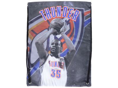 Oklahoma City Thunder Player Printed Drawstring Bag