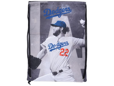 Los Angeles Dodgers Clayton Kershaw Player Printed Drawstring Bag
