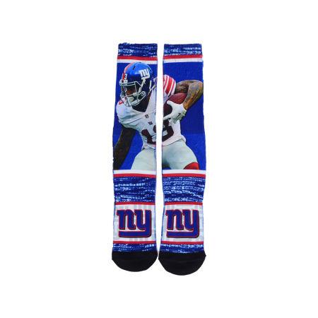 New York Giants Odell Beckham Jr. For Bare Feet NFL Rush Player Jersey Crew Socks