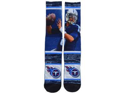 Tennessee Titans Marcus Mariota NFL Rush Player Jersey Crew Socks