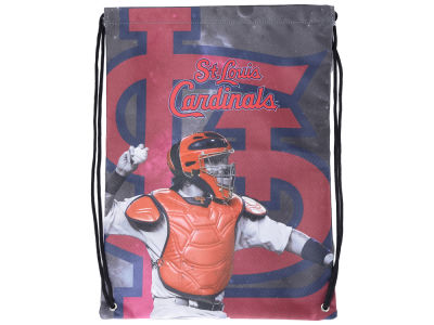 St. Louis Cardinals Yadier Molina Player Printed Drawstring Bag