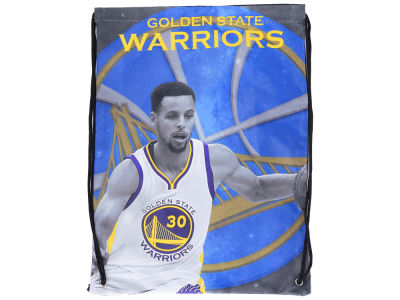 Golden State Warriors Steph Curry Player Printed Drawstring Bag