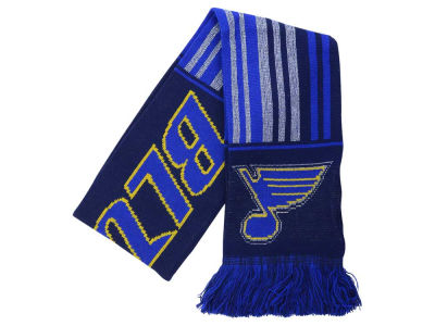 St. Louis Blues Glitter Stripe Scarf