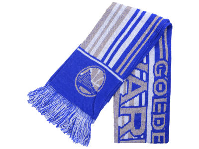 Golden State Warriors Glitter Stripe Scarf