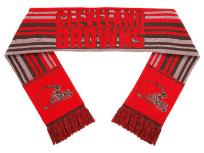 Cleveland Browns Forever Collectibles Glitter Stripe Scarf