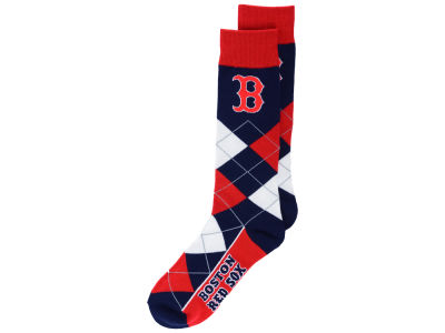 Boston Red Sox Argyle Dress Socks