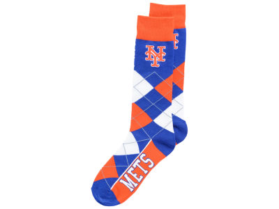 New York Mets Argyle Dress Socks