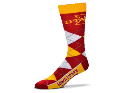 Iowa State Cyclones Argyle Dress Socks