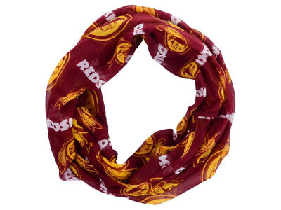 Washington Redskins Forever Collectibles All Over Logo Infinity Wrap Scarf