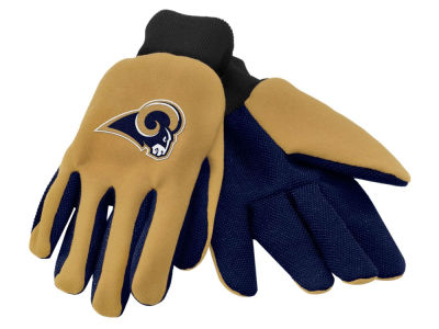 Los Angeles Rams Team Color Palm Gloves