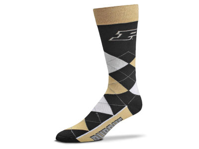 Purdue Boilermakers Argyle Dress Socks