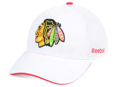 Chicago Blackhawks Reebok NHL Team Logo Flex Cap