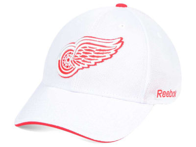 Detroit Red Wings Reebok NHL Team Logo Flex Cap